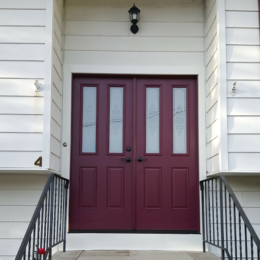 Classic Craft Mahogany Old Front Double Door Replaced Jpg Img_1926